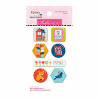 Bella Blvd - Mind Your Manners Collection - Epoxy Stickers - Icons