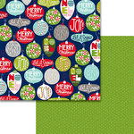 Bella Blvd - Merry Christmas Collection - 12 x 12 Double Sided Paper - Light It Up
