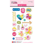 Bella Blvd - Make Your Mark Collection - Puffy Stickers - Icons