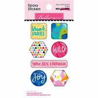 Bella Blvd - Make Your Mark Collection - Epoxy Stickers - Icons