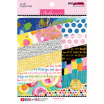 Bella Blvd - Make Your Mark Collection - 6 x 8 Paper Pad with Foil Accents