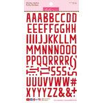 Bella Blvd - Puffy Stickers - Wonky Alphabet - McIntosh