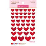 Bella Blvd - Puffy Stickers - Hearts - McIntosh Mix
