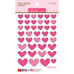 Bella Blvd - Puffy Stickers - Hearts - Punch Mix