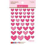Bella Blvd - Puffy Stickers - Hearts - Punch Mix