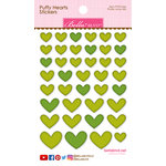 Bella Blvd - Puffy Stickers - Hearts - Pickle Juice Mix