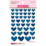 Bella Blvd - Puffy Stickers - Hearts - Blueberry Mix