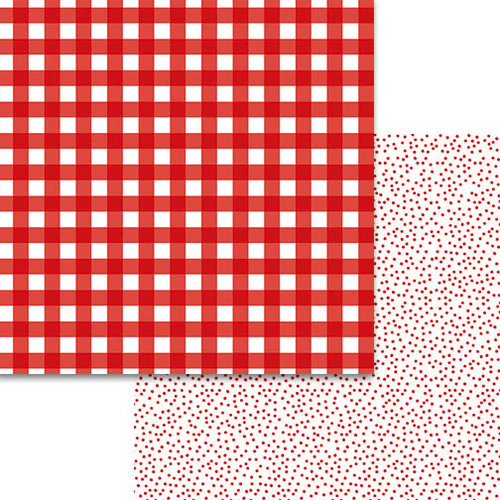 Bella Blvd - Plaids and Dotty Collection - 12 x 12 Double Sided Paper - McIntosh