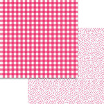 Bella Blvd - Plaids and Dotty Collection - 12 x 12 Double Sided Paper - Punch