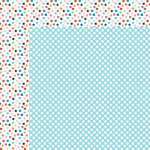 Bella Blvd - Popsicles and Pandas Collection - 12 x 12 Double Sided Paper - Picnic