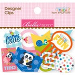 Bella Blvd - Popsicles and Pandas Collection - Designer Clips