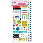 Bella Blvd - Pop Quiz Collection - Cardstock Stickers - Sticky Mix
