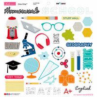 Bella Blvd - Pop Quiz Collection - Chipboard Icons