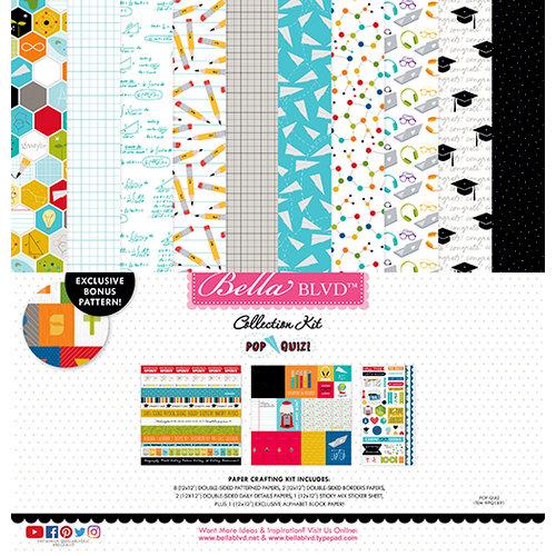 Bella Blvd - Pop Quiz Collection - 12 x 12 Collection Kit