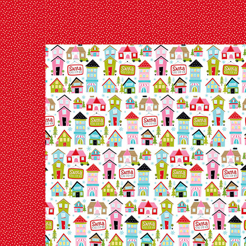 Bella Blvd - Santa Stops Here Collection - Christmas - 12 x 12 Double Sided Paper - Waiting on Santa