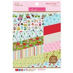 Bella Blvd - Santa Stops Here Collection - Christmas - 6 x 8 Paper Pad
