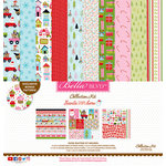 Bella Blvd - Santa Stops Here Collection - Christmas - 12 x 12 Collection Kit