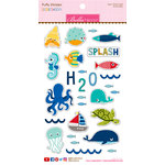 Bella Blvd - Secrets of the Sea Collection - Boy - Puffy Stickers - Icons