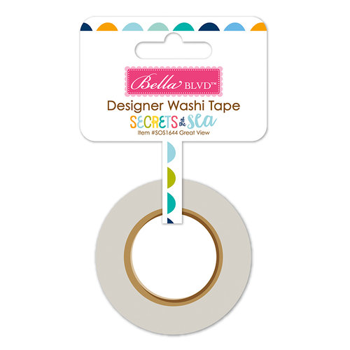 Bella Blvd - Secrets of the Sea Collection - Boy - Washi Tape - Great View