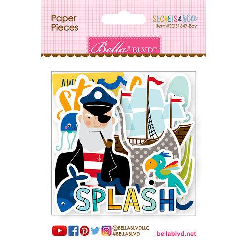 Bella Blvd - Secrets of the Sea Collection - Boy - Paper Pieces