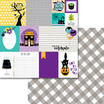 Bella Blvd - Sweet and Spooky Collection - Halloween - 12 x 12 Double Sided Paper - Daily Details