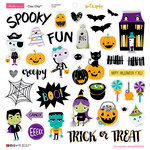 Bella Blvd - Sweet and Spooky Collection - Halloween - Ciao Chip - Self Adhesive Chipboard - Icons