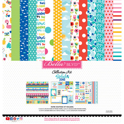 Bella Blvd - Splash Zone Collection - 12 x 12 Collection Kit