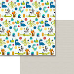 Bella Blvd - Wish Big Collection - Birthday Boy - 12 x 12 Double Sided Paper - Dinotastic