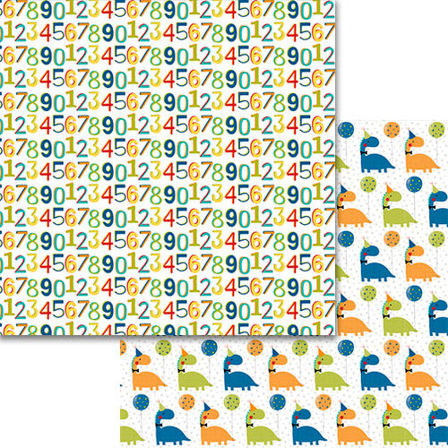 Bella Blvd - Wish Big Collection - Birthday Boy - 12 x 12 Double Sided Paper - How Old Are You