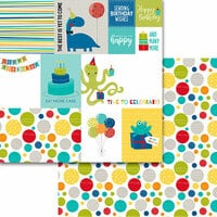 Bella Blvd - Wish Big Collection - Birthday Boy - 12 x 12 Double Sided Paper - Daily Details