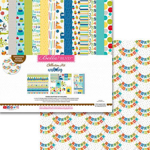 Bella Blvd - Wish Big Collection - Birthday Boy - 12 x 12 Collection Kit
