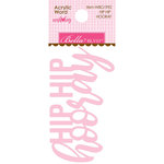 Bella Blvd - Wish Big Collection - Birthday Girl - Acrylic Words - Hip Hip Hooray