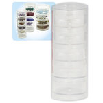 Beadalon - Jewelry - Stackable Containers - 5 Stack - Medium