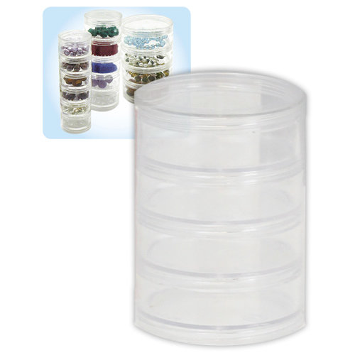 Beadalon - Jewelry - Stackable Containers - 4 Stack - Large