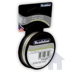 Beadalon - Jewelry - Bead Stringing Wire - 49 Strand - .018 Inches - 10 feet - Silver Plated