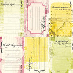 Black Market Paper Society - Letters from Paradise Collection - Underground Tag Elements, CLEARANCE
