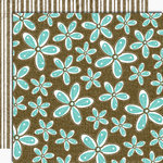 Black Market Paper Society - Lucky 'n Love Collection - 12x12 Double Sided Paper - Sweet Thing, CLEARANCE
