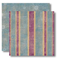 Black Market Paper Society - Let It Bloom Collection - 12 x 12 Double Sided Paper - Cassia May