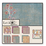 Black Market Paper Society - Let it Bloom - Paper Collection Pack, CLEARANCE