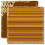 Black Market Paper Society - Imported Rhythm Collection - 12 x 12 Double Sided Paper - Shruti Stick