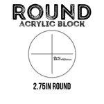 Brutus Monroe - Acrylic Block - Round