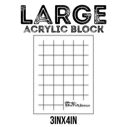 Large Acrylic Block – Brutus Monroe