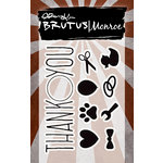 Brutus Monroe - Clear Acrylic Stamps - Many Thanks