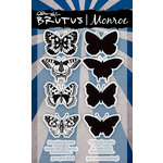 Brutus Monroe - Clear Acrylic Stamps - Butterfly Sentiments 2.0