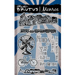Brutus Monroe - Clear Acrylic Stamps - Terry's Trains