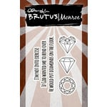 Brutus Monroe - Clear Acrylic Stamps - Diamonds