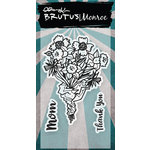 Brutus Monroe - Clear Acrylic Stamps - Mom's Flowers