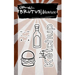 Brutus Monroe - Clear Acrylic Stamps - Let's Ketchup
