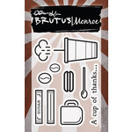 Brutus Monroe - Clear Acrylic Stamps - Cup Of Thanks