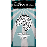 Brutus Monroe - Clear Acrylic Stamps - Donut WorryBe Happy